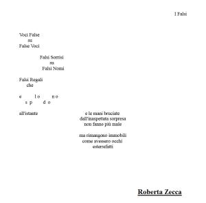 I Falsi di Roberta Zecca
